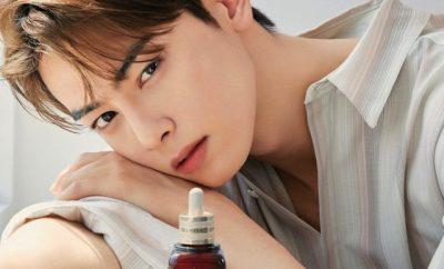 Cha Eun Woo x Marie Claire x Estee Lauder 2