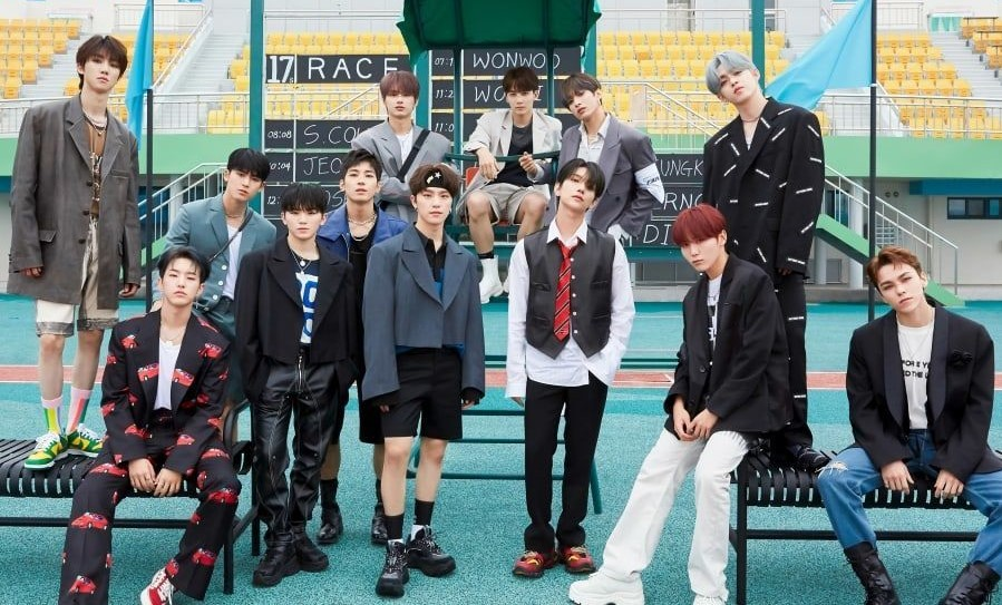 Seventeen Becomes First K Pop Male Artist To Have Four Albums Rank No 1 In Oricon Weekly Album Charts