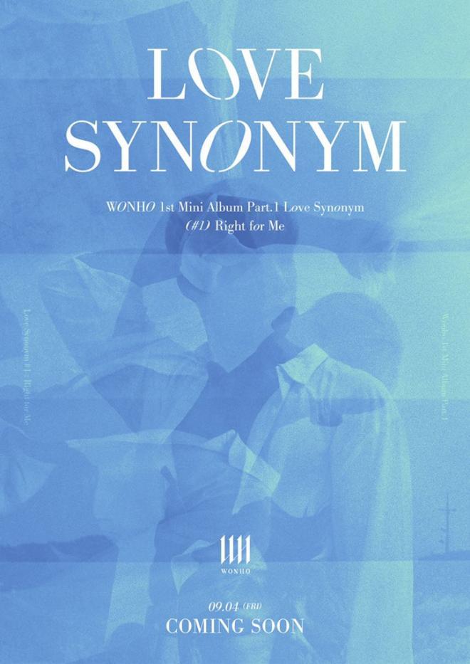 wonho love synonym