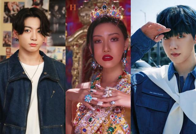 BTS Jungkook | MAMAMOO Hwasa | Astro Sanha