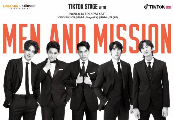 starship korean actors tiktok stage