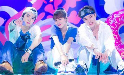 SBS Inkigayo MinNaHyun Trio