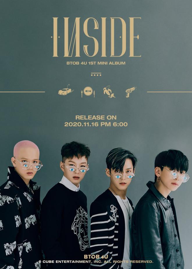 BTOB 4U INSIDE mini-album