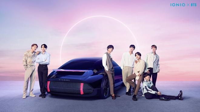 BTS x Hyundai IONIQ