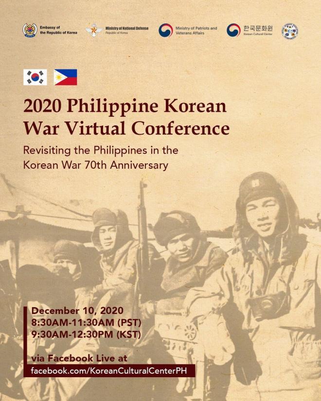 Philippine Korean War Virtual Conference