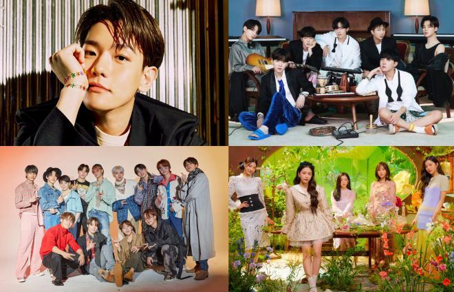 Baekhyun, IU, BTS, BLACKPINK, SEVENTEEN & More Winners At ...