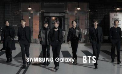 BTS x Samsung