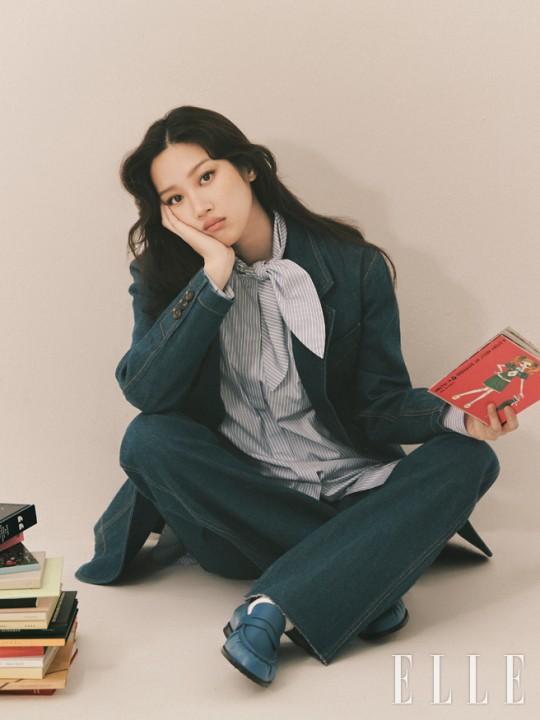 Moon Ga Young For Elle Korea 2