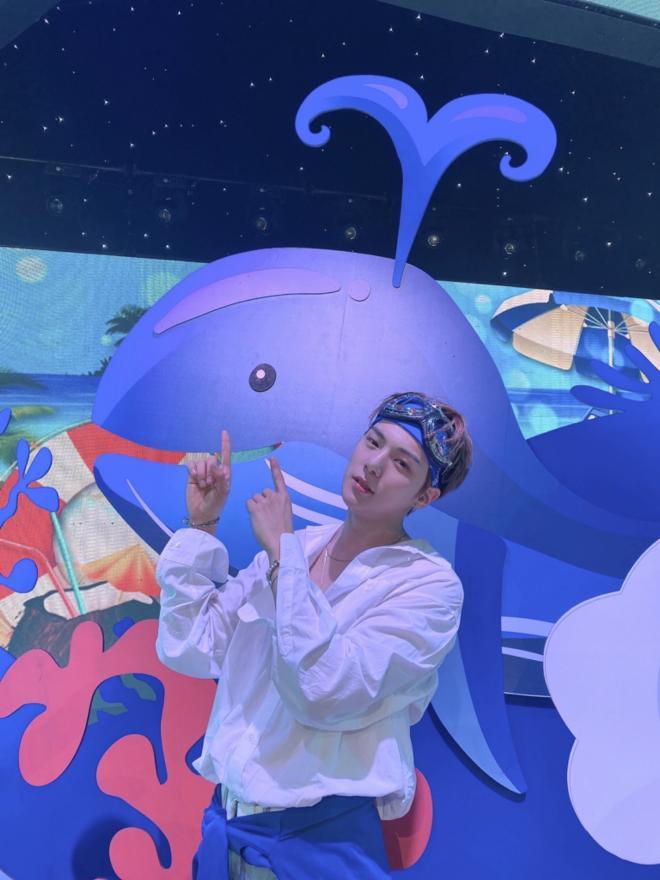 MONSTA X Minhyuk Last Greetings As SBS Inkigayo Host