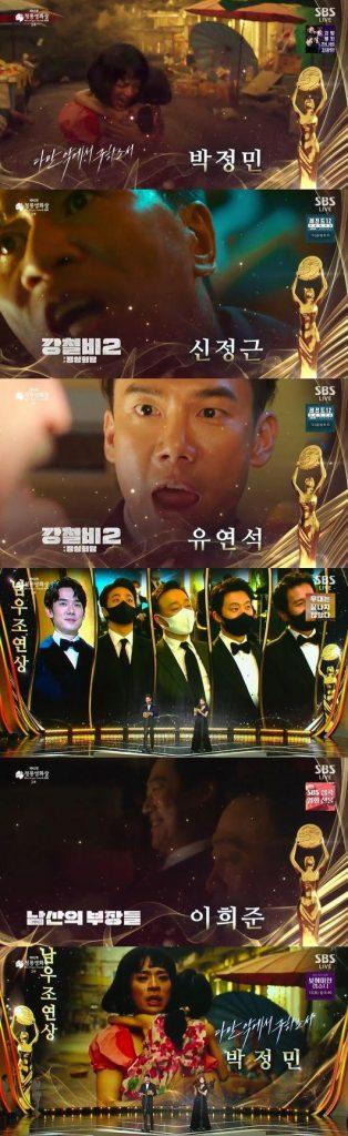 41st Blue Dragon Film Awards Winners