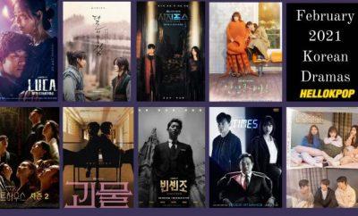 February 2021 Korean Dramas