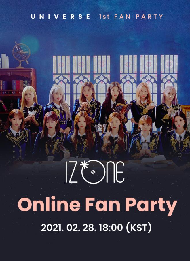 IZ*ONE Online Fan Party