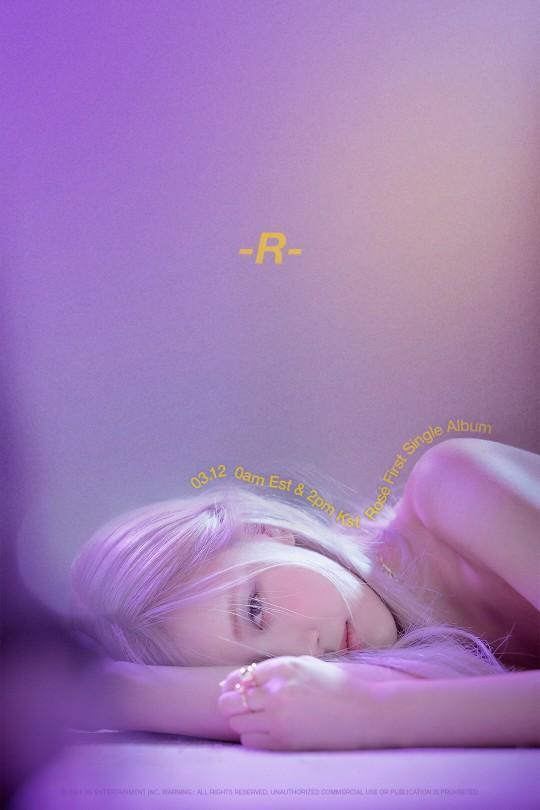 "BLACKPINK's Rosé Reveals The First Image Teaser For Her Solo Debut Album ""R"""
