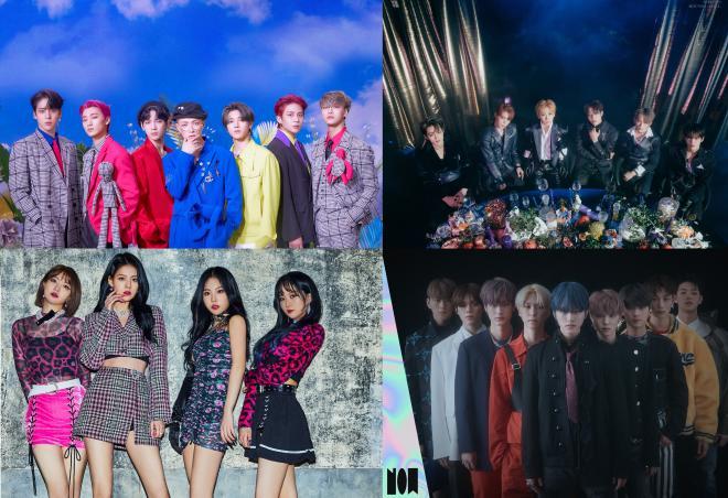 March K-pop comeback
