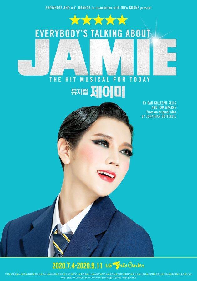 NU'EST Ren Everybody's talking About Jamie Musical