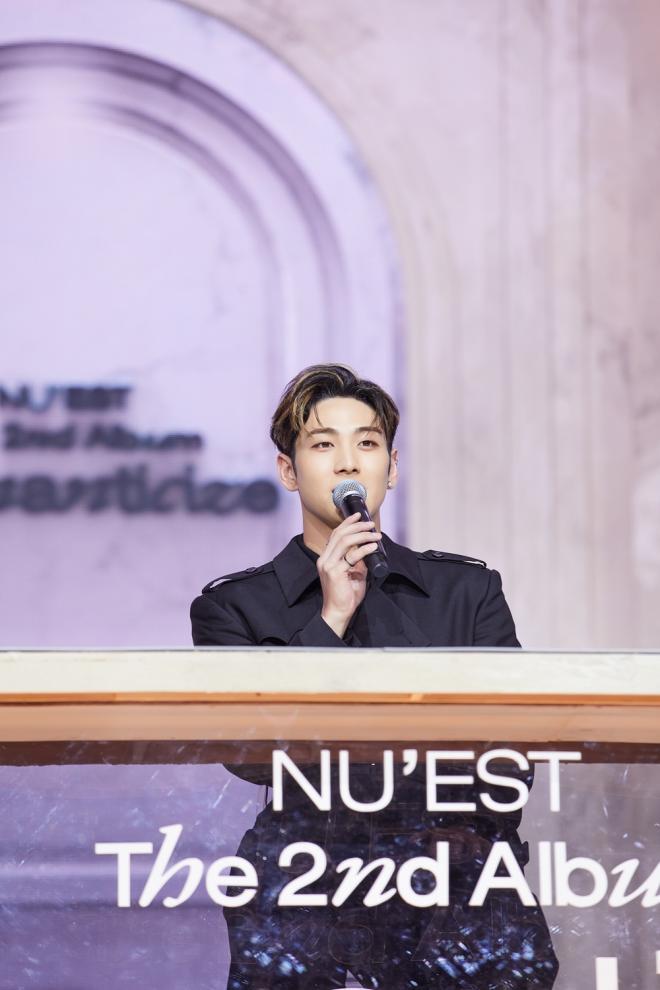 NU'EST Media Showcase Romanticize INSIDE OUT