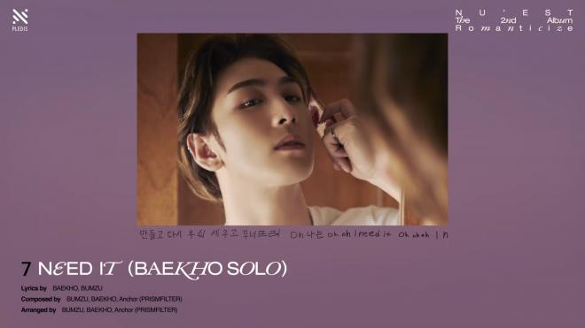 NU'EST Pre-Listening #2 2nd Full Album Romanticize