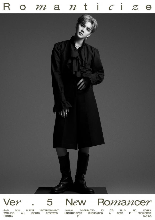"""NU'EST Ren Concept Photos """"Romanticize"""""""