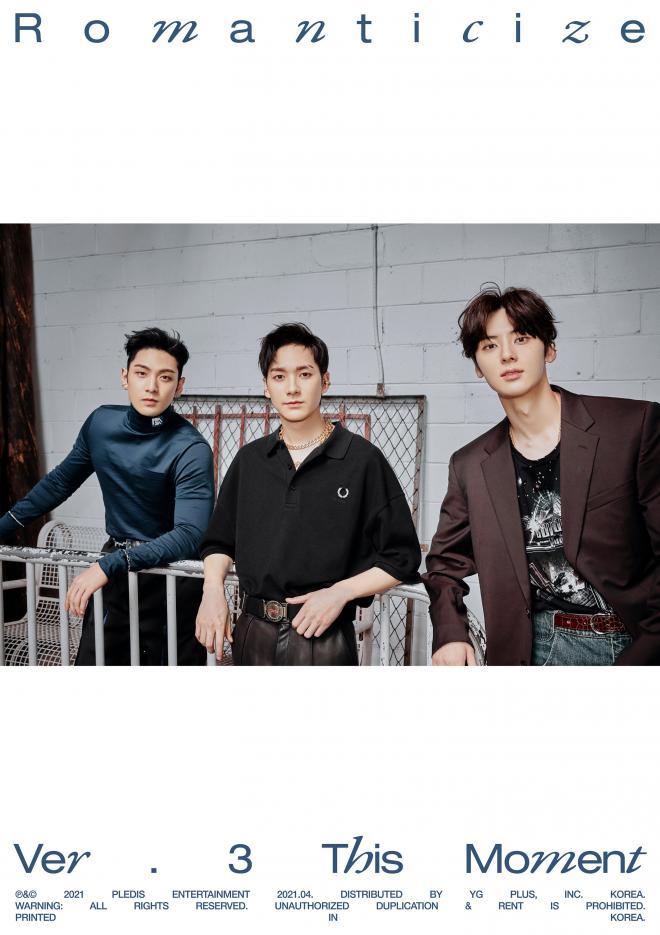 NU'EST 2nd Full Album Romanticize INSIDE OUT