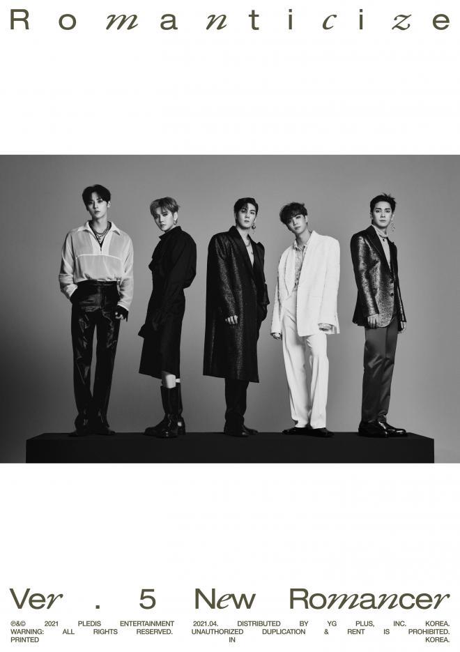 NU'EST Official Group Concept Photos 2nd Full Album Romanticize