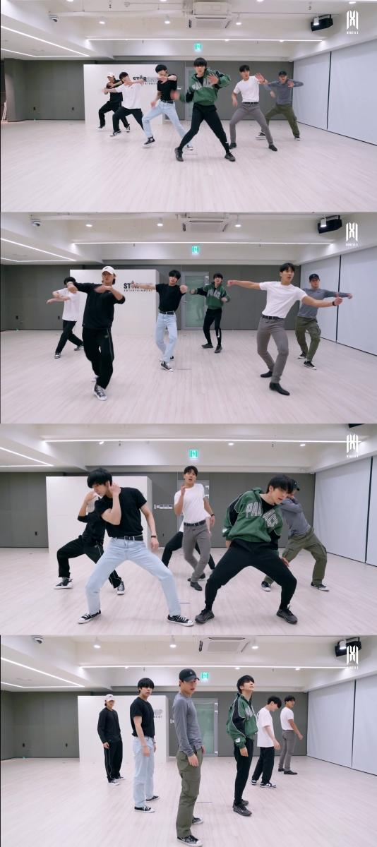 """MONSTA X Displays Perfect Teamwork In Dance Practice Video For """"GAMBLER"""""""