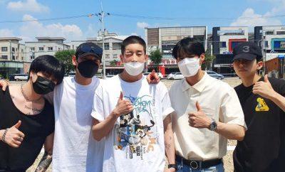 VICTON Han Seungwoo military