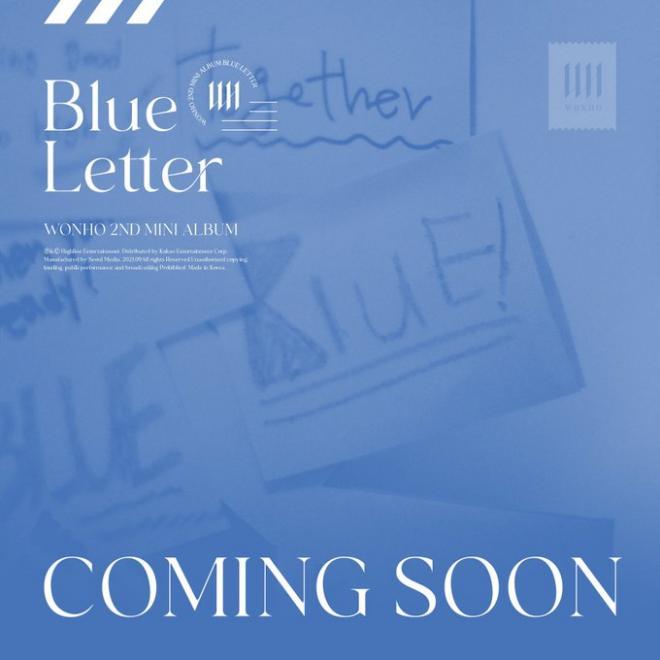 WONHO BLUE LETTER