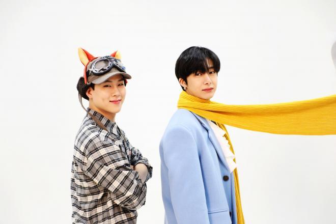 MONSTA X Hyungwon and Joohoney Idol Radio