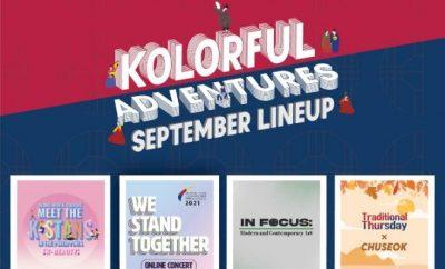 September Kolorful Adventures kdramadiary