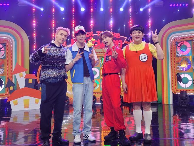 minhyuk eunhyuk back to the idol season 2